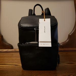 Matt & Nat Mini Brave Backpack - Black